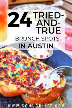 Sunday brunch is the best meal of the week!! Here are 24 brunch spots in Austin Texas that you have to try. #austinrestaurants #visitaustin #austinfood Best Breakfast In Austin, Austin Brunch, Best Sunday Brunch, Best Brunch Places, Bachelorette Ideas, Bachelorette Weekend, Austin Food, Austin Tx