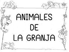 ✿ Actividades para los ANIMALES de la Granja.