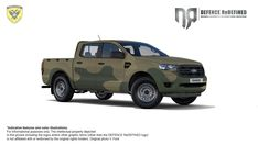 National Guard | These are the 60 new double cabs that will be received
