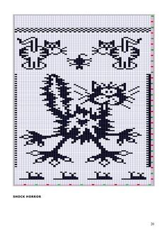 x stitch - cats Blackwork Cross Stitch, Beaded Cross Stitch, Cross Stitch Baby, Cross Stitch Animals, Cross Stitch Charts, Cross Stitching, Cross Stitch Embroidery, Funny Cross Stitch Patterns, Cross Stitch Designs