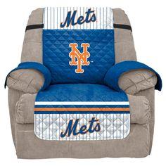 MLB New York Mets Recliner Slipcover, Durable