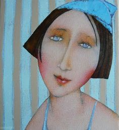 Cecile Veilhan and Her Women ~ Blog of an Art Admirer