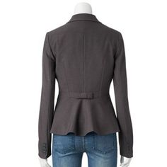 ELLE™ Bow-Back Blazer - Women's