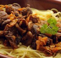 Recette - Bœuf et pâtes aux champignons - Les recettes pour bébés et mamans de Blédina
