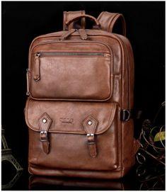 Backpacks Luggage & Bags New 2017 Large Capacity Real Genuine Leather Men Backpacks Cowhide 15.6 Laptop Man Travel Bags Brand School Bag Dark Brown And Digestion Helping