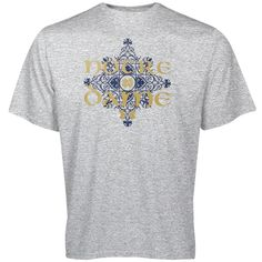 Notre Dame Fighting Irish Under Armour 2014 Shamrock Series Mosaic Performance T-Shirt - Gray - $29.99