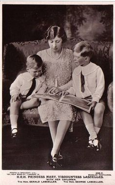 Princess Roxal Mary, Viscountess Lascelles with her sons | Flickr - Photo Sharing!