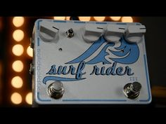 SolidGoldFX Surf Rider III Reverb Effect Pedal Demo