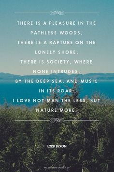 Wise words by Lord Byron! Citation Nature, Image Citation, Words Quotes, Me Quotes, Sayings, The Words, Cool Words, Great Quotes, Inspirational Quotes