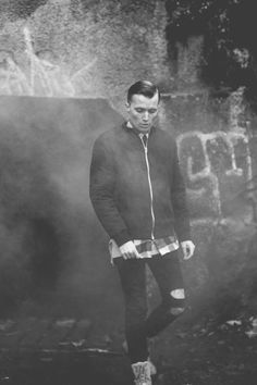 Fog blackandwhite man slickback photography Photographs, Concert, Fashion, Fashion Styles, Photos, Fotografie, Concerts, Fashion Illustrations, Trendy Fashion