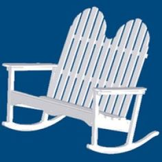 Adirondack Double Rocking Chair made from recycled plastic Green Accent Chair, Accent Chairs, Double Rocking Chair, Plastic Lumber, Leather Chaise Lounge Chair, Recycled Plastic Adirondack Chairs, 3 Piece, Relax, Rockers