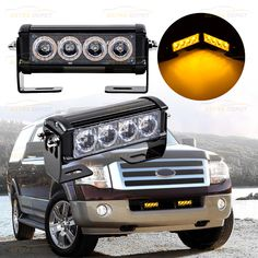 * Fit anywhere such as Roof Bar, Bull Bar, Roof Rack, etc. * 9 Different Flashing Modes & Traffic Advisor with just a press of a button * Brighter and more effective than standard LED strobe lights Led Strobe, Strobe Light, Bull Bar, Emergency Lighting, Roof Rack, Strobing, Mounting Brackets, Bar Lighting, Construction
