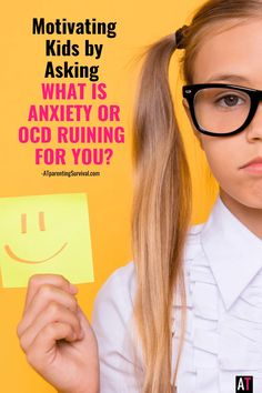 Motivating Kids by Asking What is Anxiety or OCD Ruining for You? What Is Anxiety, Daily Writing Prompts, Coping Skills, Working Moms, Ocd, Mom Blogs, Parenting Advice, Teaching Kids