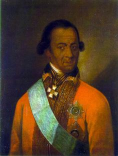 Abram Petrovich Gannibal | Famous Europeans With African Ancestry A slave that was brought to Russia by Peter the Great. He later became a major general as a military engineer and the Governor of...