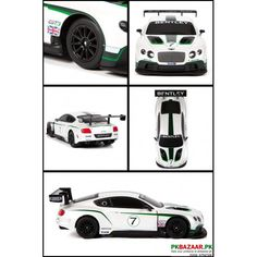 baby car, Maisto Racing Series Bentley Continental GT3 1:24 RTR Electric RC Car For sale in Pakistan