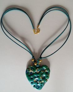 Unikat 182 Halskette mit Anhänger – Unikate Accessoires Pendant Necklace, Euro, September, Hearts, Jewelry, Board, Music, Handmade, Musica