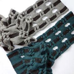 cari + carl Knot Net Shawls. www.cariandcarl.com