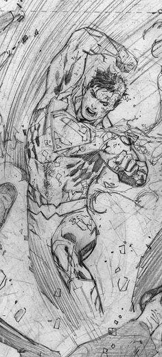 Tony S. Daniel - Superman pencils