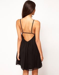 ASOS Swing Dress in Mesh