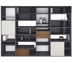 Copenhagen - мебельная стенка BoConcept: функциональность и возможность комбинирования
