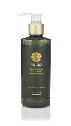 Janjira Moisturizing Body Wash and Shower Gel (8.4 oz.) - Thai Lime