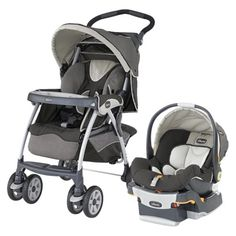Chicco Cortina SE Travel System - So many color choices!  These are so safe and easy to use! We bought an extra base for my husbands car.