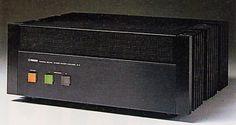 YMAHAのパワーアンプB-5(1979)  この頃のオーディオ凄く楽しかった。