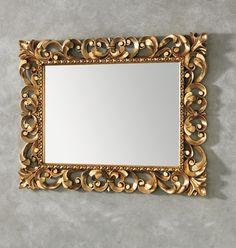 #Eban #specchio Queen | #Vetro e #legno | su #casaebagno.it | #composiozioni #mobili #bagno #arredamento #design
