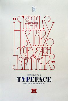 Feel the history of each letter. ...Good point. Designer? Study.. do some homework. Know your type—at least the basic fonts, their history and why they were created.