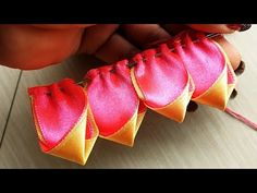 DIY Very Beautiful Ribbon Art - YouTube
