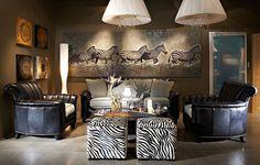Американский интерьер при желании может оказаться у Вас дома #мебель