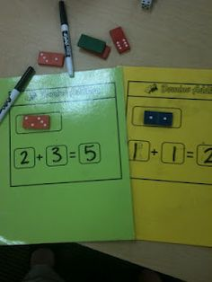 Kindergarten is the Best: Domino Addition and a FREEBIE