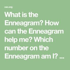 What is the Enneagram? How can the Enneagram help me? Which number on the Enneagram am I? Does the Enneagram work? We often hear these questions about the Enneagram. Answering them can take a few minutes and an entire lifetime. This blog post provides a brief introduction to this ancient personality tool and a compilation… Continue Reading The Enneagram: An Introduction
