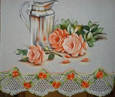 Tableware, Painting, Dish Towels, Rose Leaves, Blue And White, Calla Lilies, Tablecloths, Needlepoint, Drawings