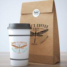 Free take away coffee cup burger packaging mockup psd. Coffee Box, My Coffee Shop, Coffee Cups, Burger Packaging, Brand Packaging, Cosmetic Packaging, Product Packaging, Cafe Logo, Coffee Branding