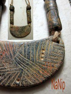 Burkina Faso, inspiración polymer clay |by Elena Fernandez