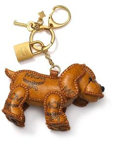 ShopStyle  MCM Heritage Line Dog Charm Bloomingdales Bags 90ddda01e3a05