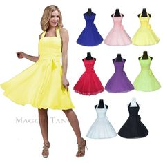 Formal Bridesmaid Cocktail Birthday Homecoming Wedding Prom Party Dress 12 Color