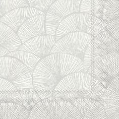 IHR Lignes silver and White Geometric Printed 3-Ply Paper Cocktail Napkins Wholesale C604805