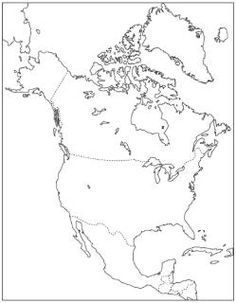 Outline Maps of some Continents and Countries you can print FREE from home!