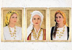 Greek traditional scarfs / Ελληνικά παραδοσιακά μαντήλια. _  #Greece #Greek_tradition #Scarf #Apron #Folk #Embroidery #European_fashion #folk_art