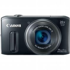 Canon PowerShot SX260 HS Digital Camera - Black $313.95 #coupay #photography
