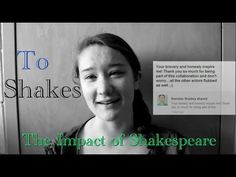 To Shakes: The Impact of Shakespeare