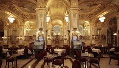 Café New York à Budapest