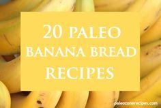Paleo Banana Bread Recipes paleozonerecipes.com #paleo #health #glutenfree