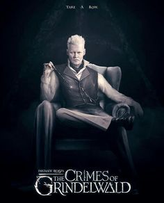 Create artwork for Fantastic Beasts: The Crimes of Grindelwald Harry Potter Universal, Harry Potter Movies, Harry Potter World, Gellert Grindelwald, Crimes Of Grindelwald, Harry Draco, Mundo Harry Potter, Film Fantastic, Fantastic Beasts And Where
