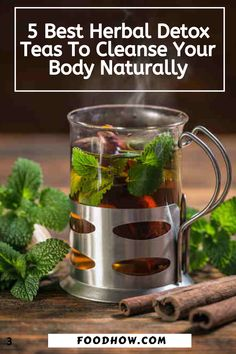 I used to have fatigue, bad breath, and I struggled to lose weight. I started experimenting with these natural herbal detox teas to cleanse my body and get rid of harmful toxins. Weight Loss Cleanse, Weight Loss Tea, Weight Loss Drinks, Easy Weight Loss, Herbal Detox, Herbal Teas, Detox Juice Recipes, Tea Recipes, Bowel Cleanse