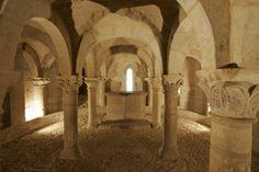 Cripta románica. San Martín de Unx