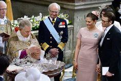 Princess Estelle's baptism on Tuesday 22 May 2012. Photo: Claudio Bresciani / Scanpix