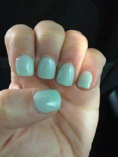 New color from ANC. Mint chocolate chip.